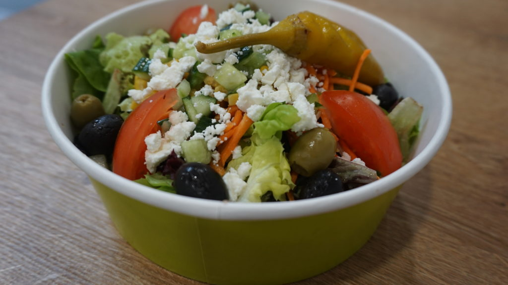 Catering-Beispiel: Salat fix & fertig